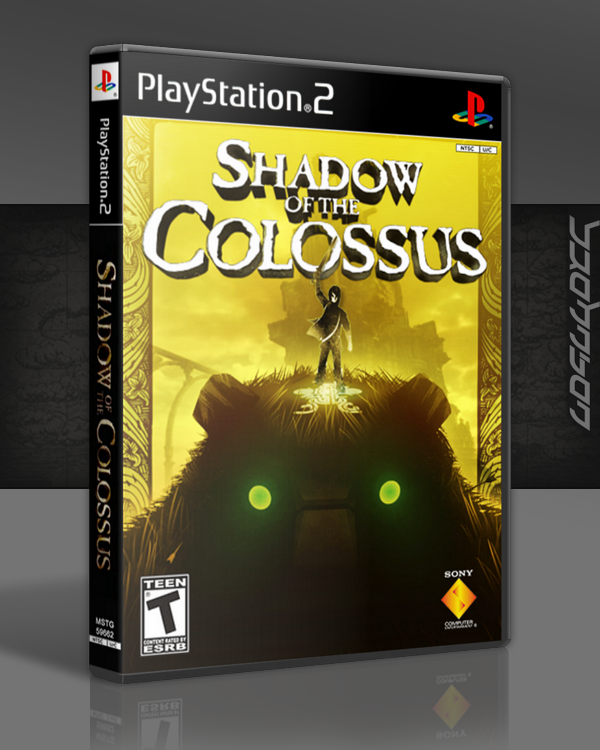 Shadow of the Colossus box cover