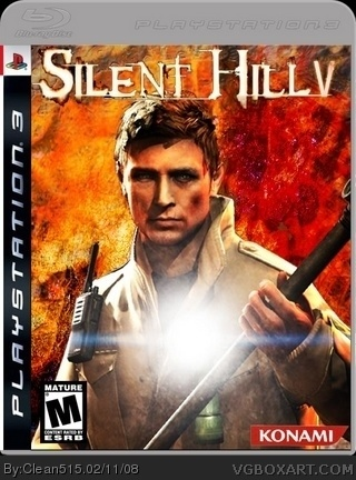 Silent Hill 5 box cover