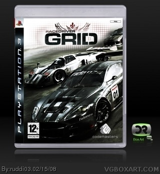 Race Driver: Grid box art cover