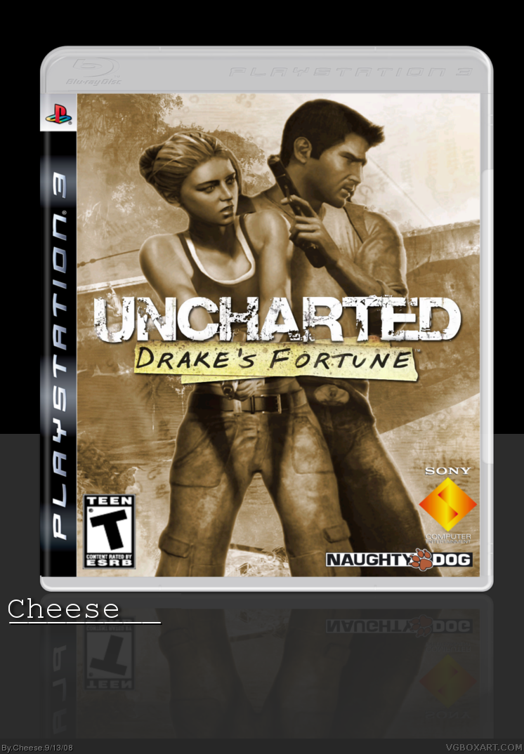 Uncharted: Drake's Fortune box cover