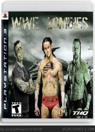 WWE Zombies box cover