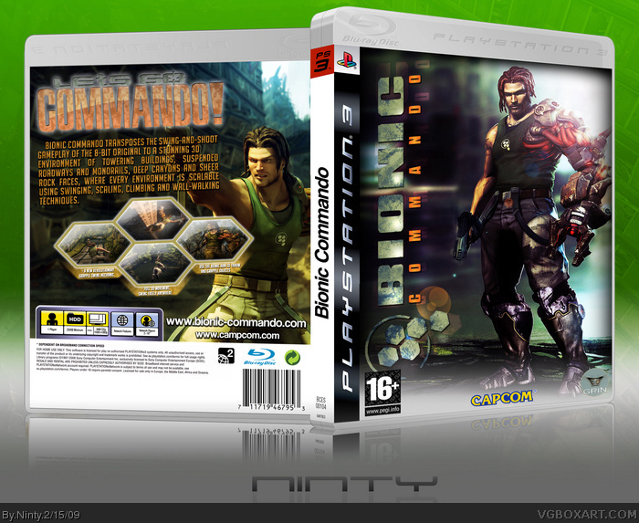 Bionic Commando box art cover