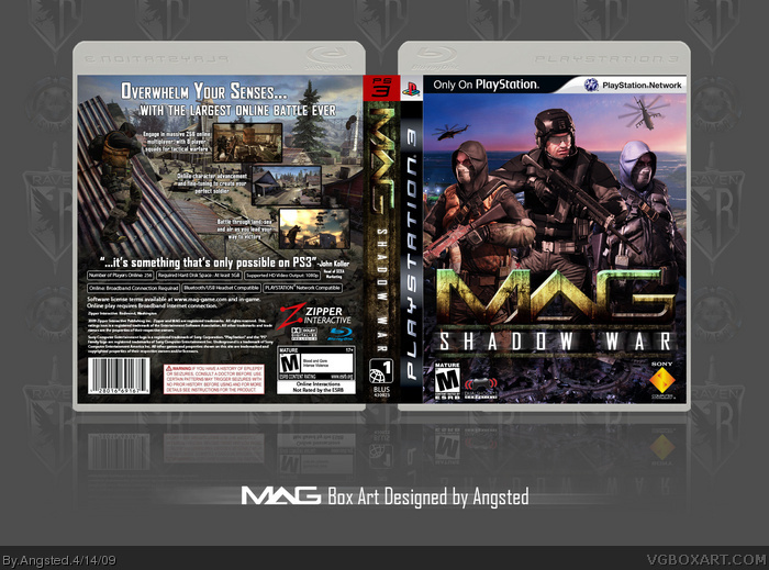 M.A.G. Massive Action Game box art cover
