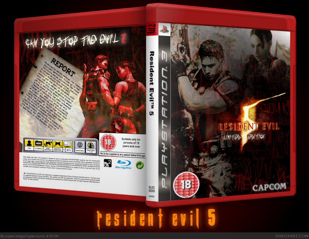 Resident Evil 5: Special Edition box cover