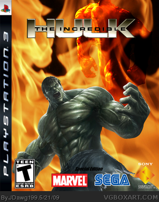 The Incredible Hulk Special Edition box art cover