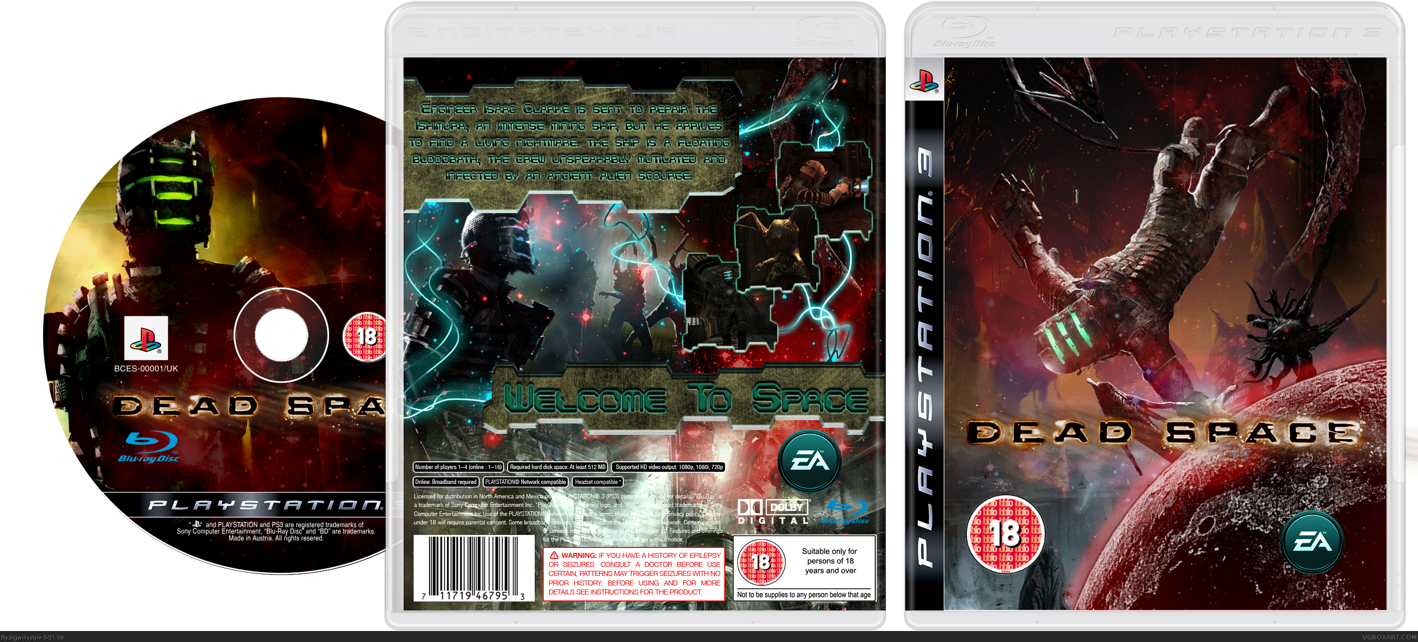 Dead Space box cover