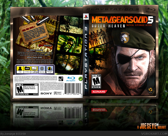 Metal Gear Solid 5: Outer Heaven box art cover