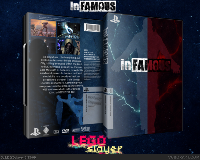 inFAMOUS box art cover
