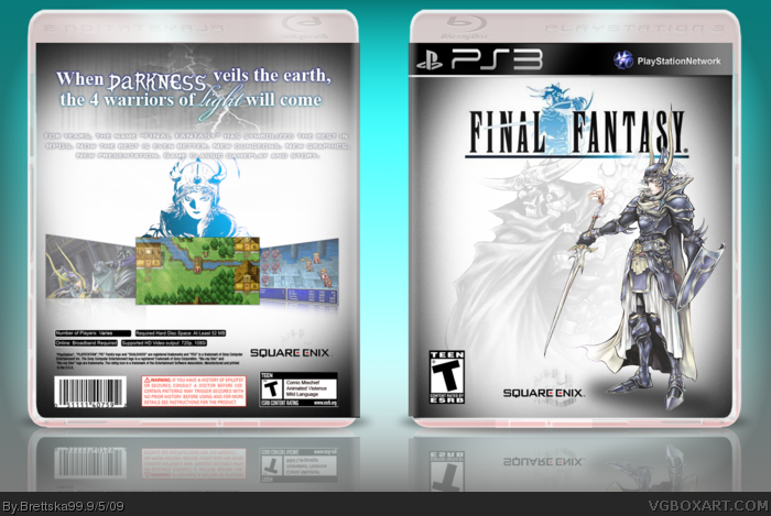 Final Fantasy box art cover