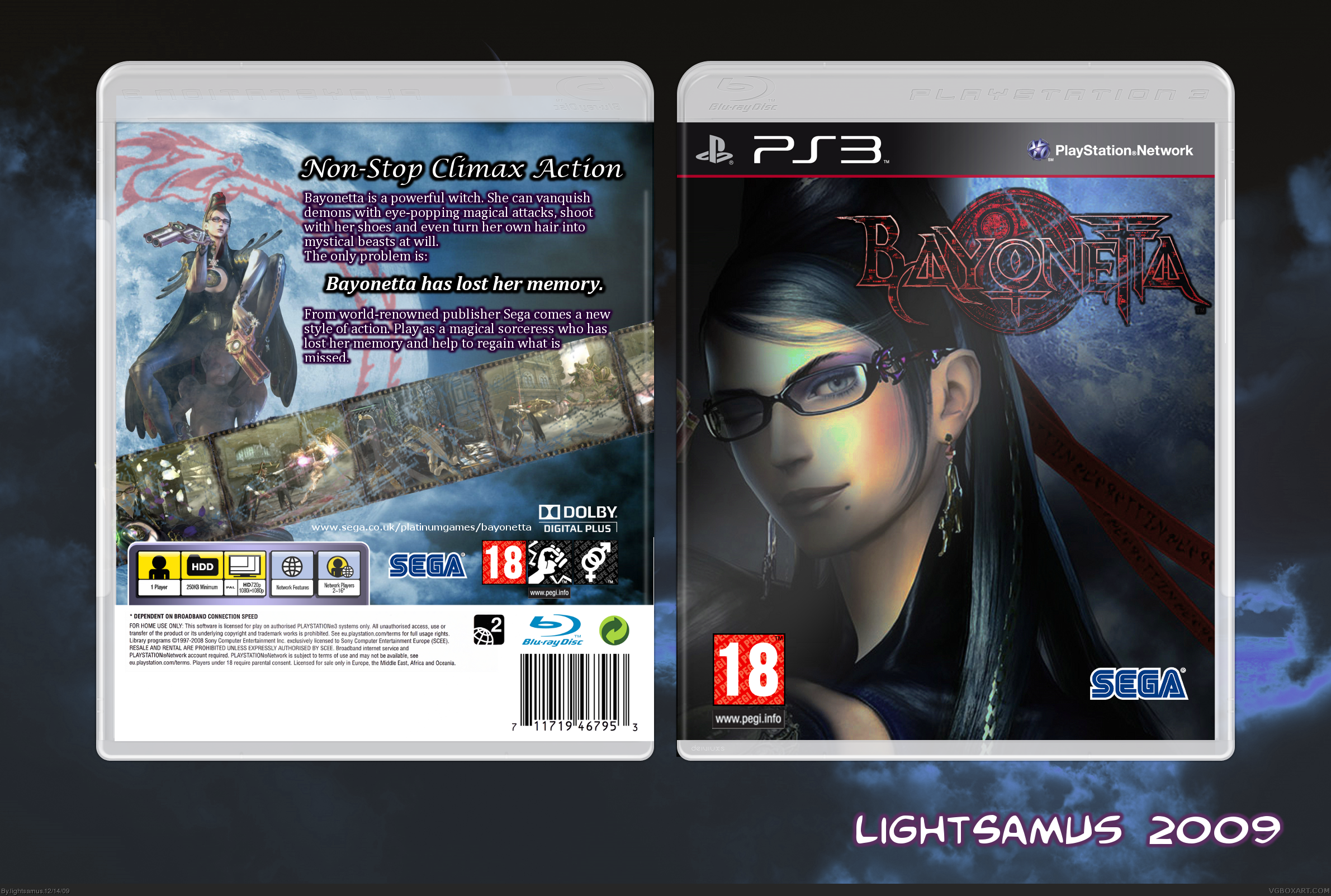 Bayonetta box cover