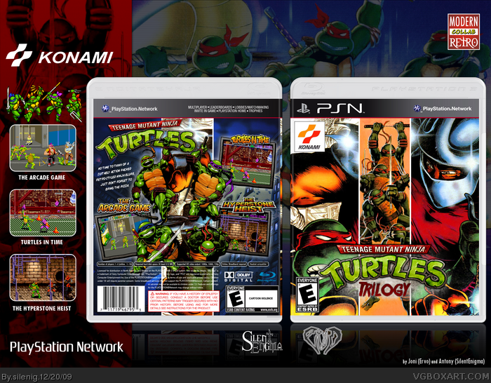 Teenage Mutant Ninja Turtles: Trilogy box art cover