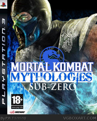 Mortal Kombat Mythologies : Sub-Zero box cover