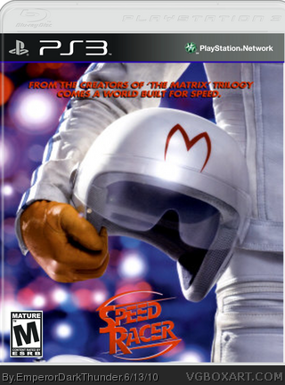 Speed Racer box art cover