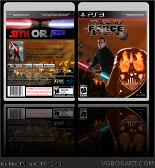 Star Wars The Force Unleashed 3 box art cover