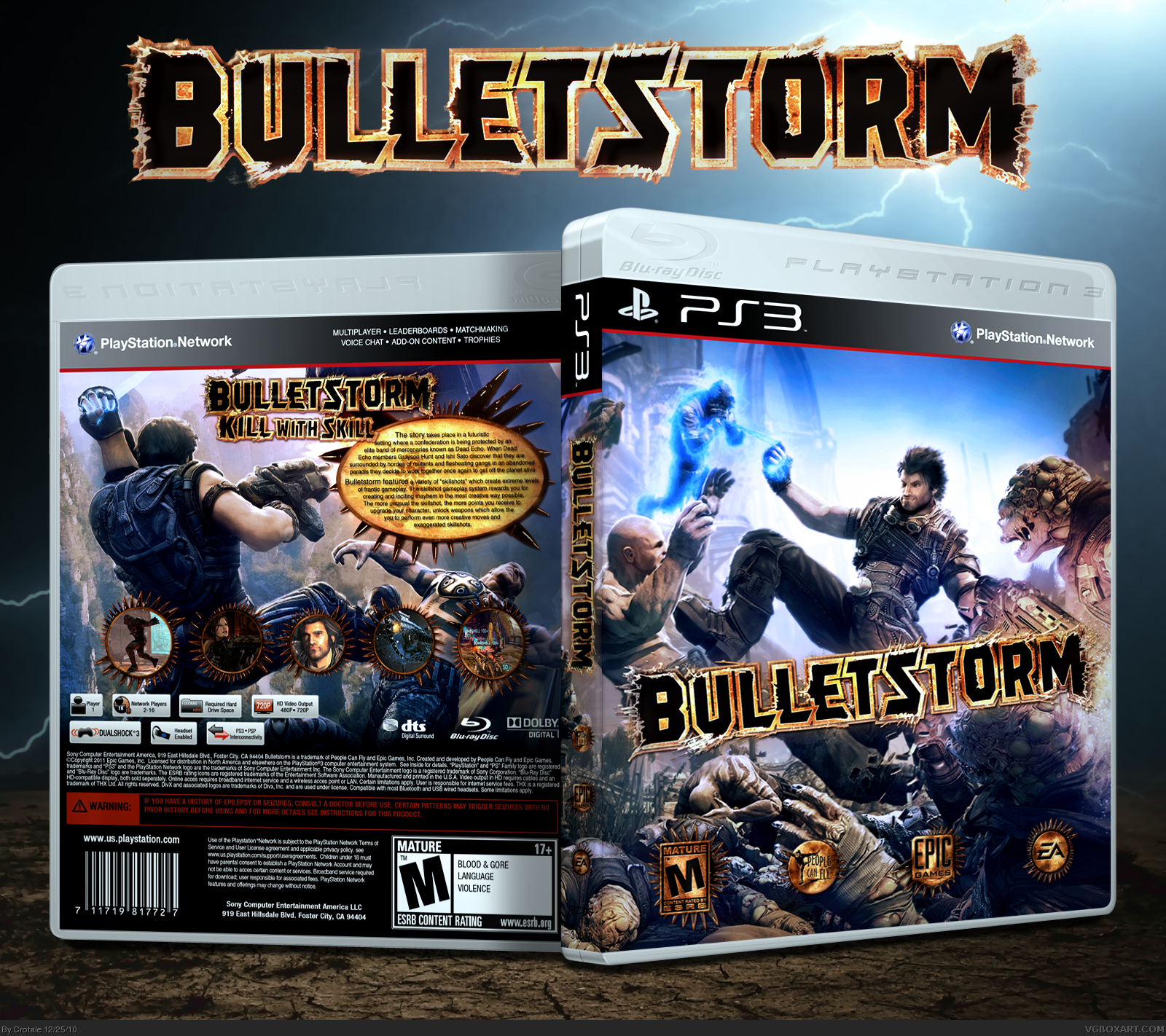 Bulletstorm box cover