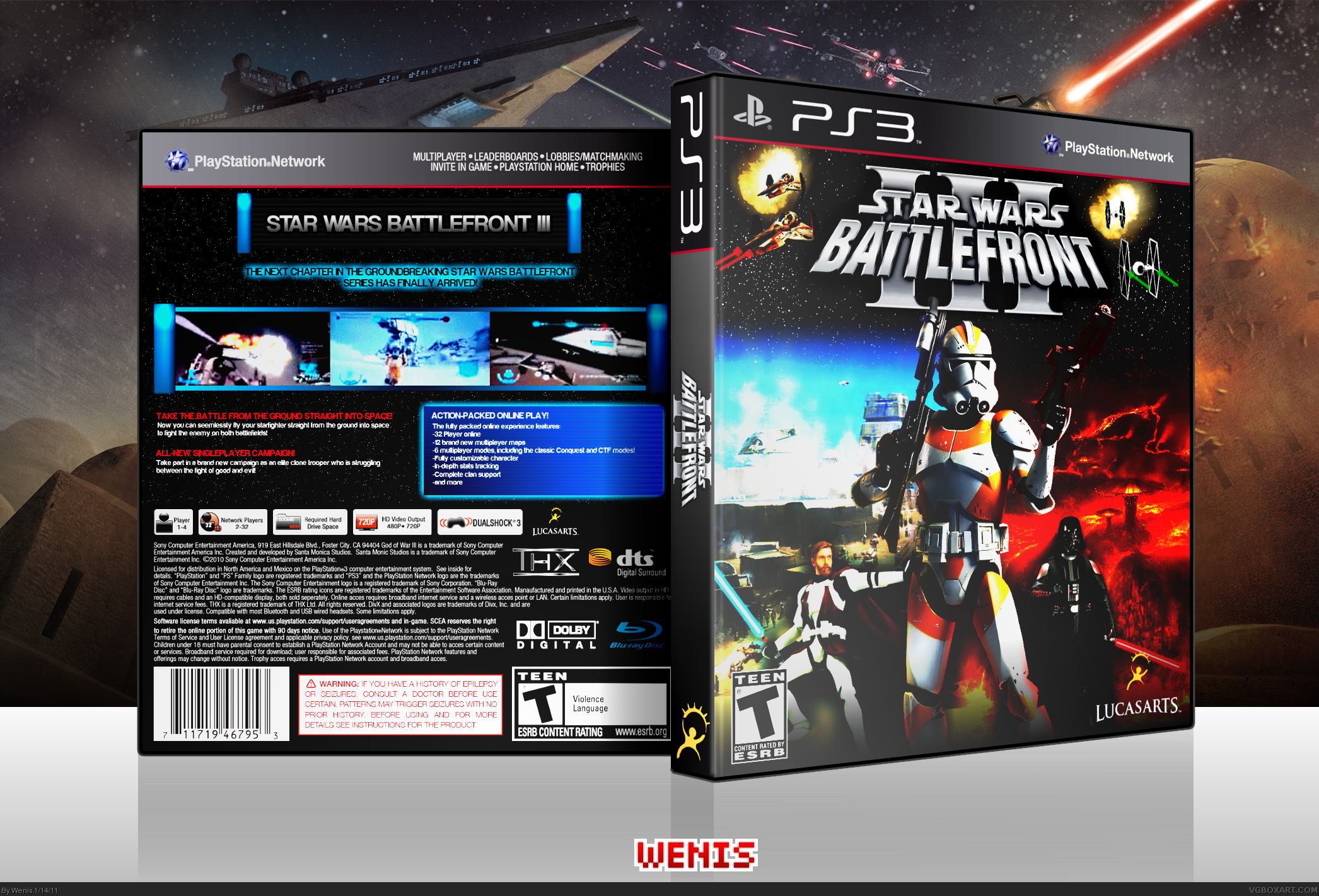Star Wars: Battlefront III box cover