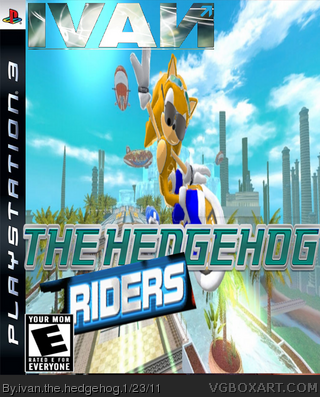 ivan the hedgehog riders box cover