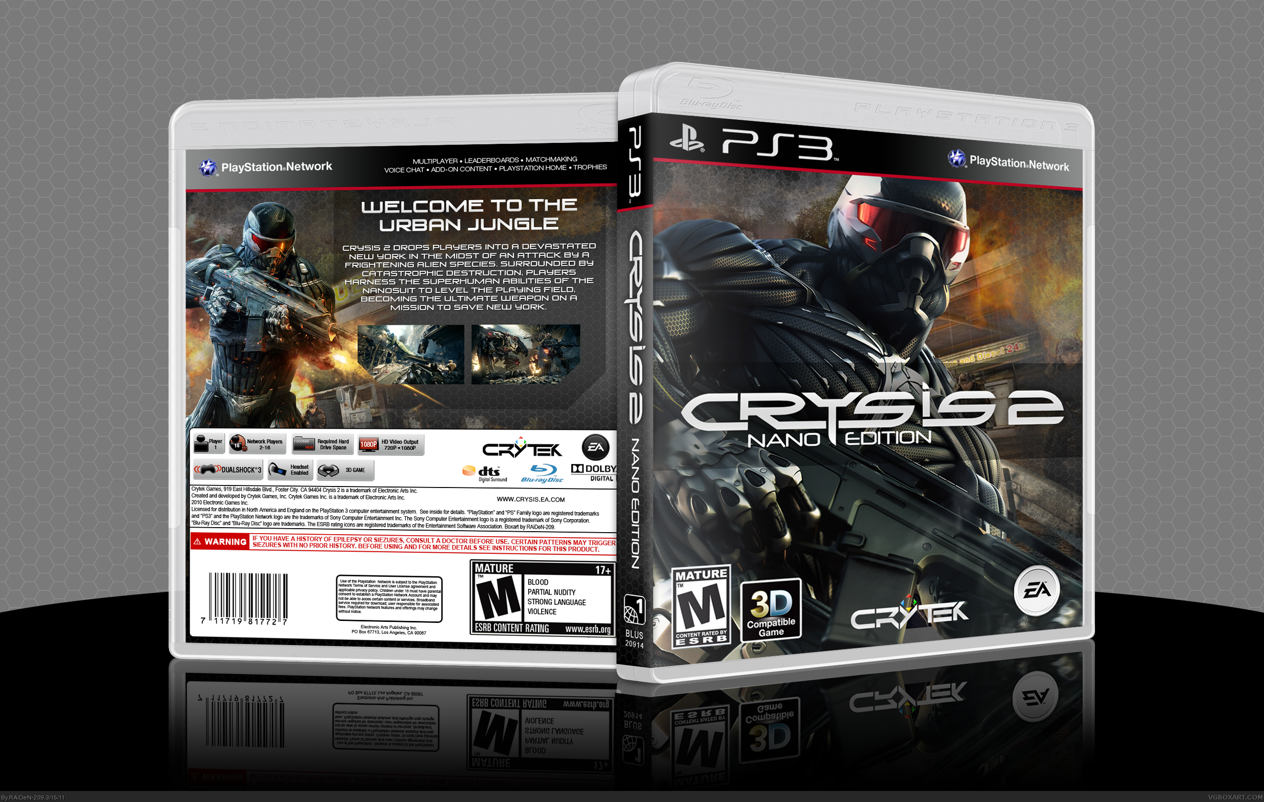 Crysis 2 box cover