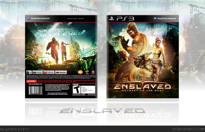 Enslaved: Odyssey to the West box art cover