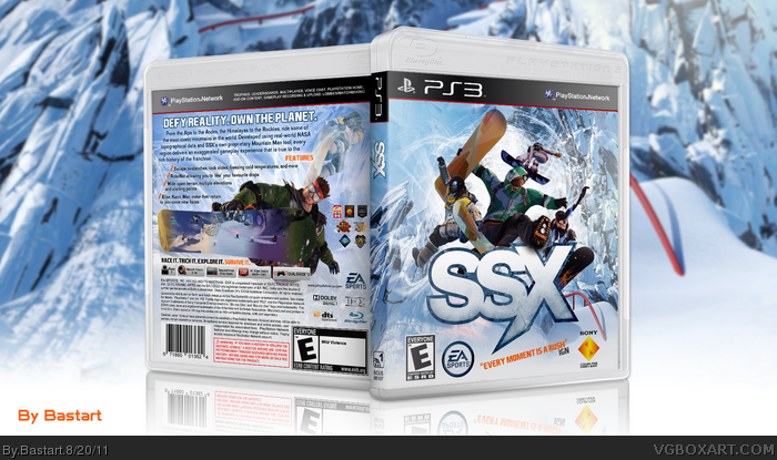 SSX box art cover
