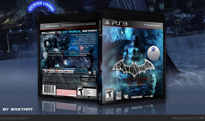 Batman Arkham City: Iceberg Lounge Edition box art cover