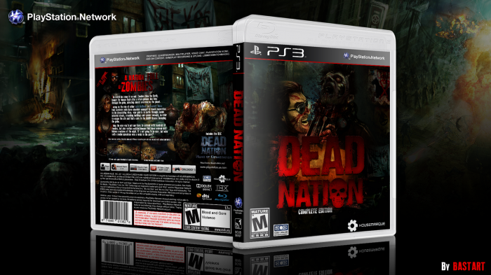 Dead Nation box art cover