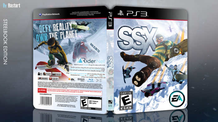 SSX (steelbook edition) box art cover