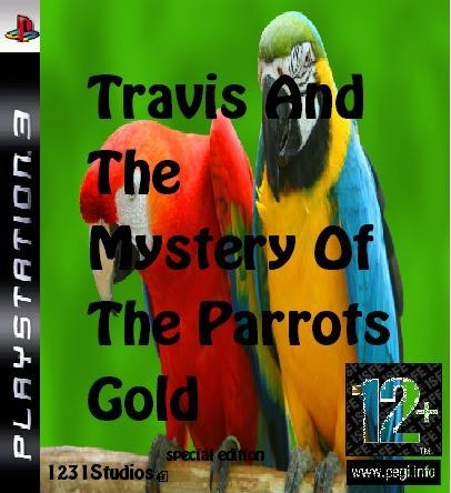Travis And The Mystery Of The Parrots Gold box cover