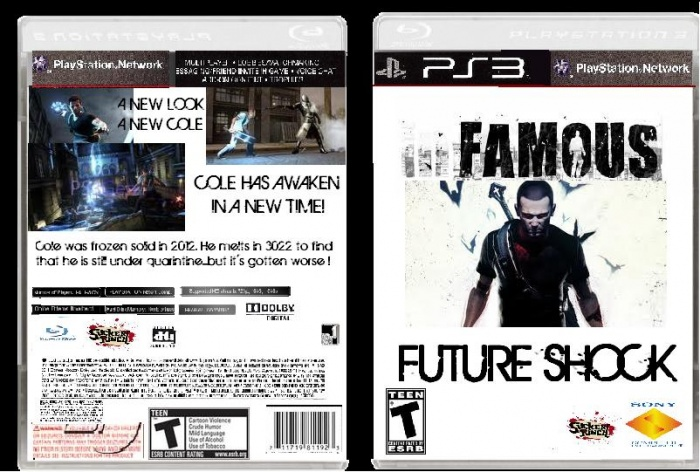 iNFAMOUS:FUTURE SHOCK box art cover