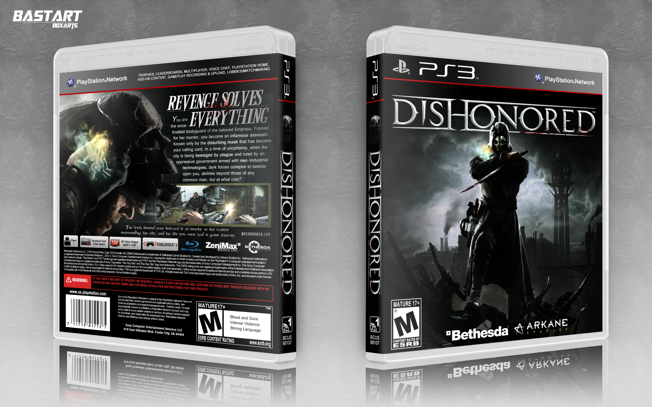 Dishonored box cover