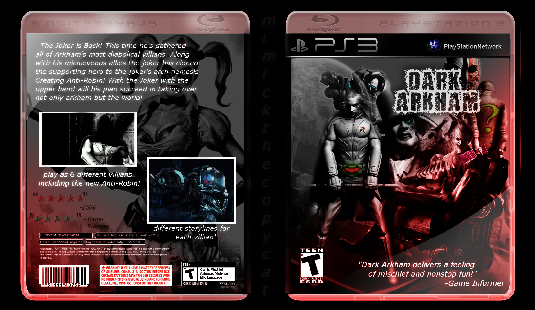 Dark Arkham box cover