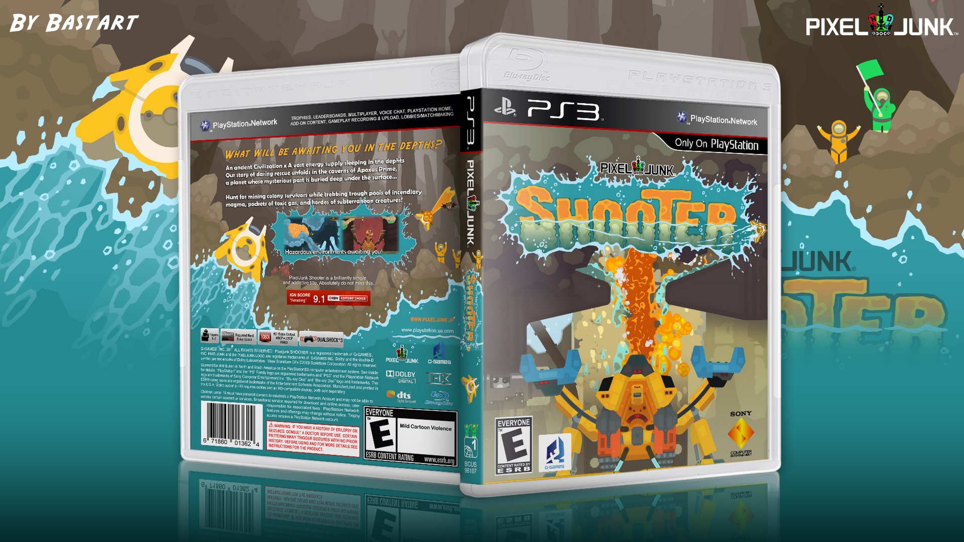Pixeljunk: Shooter box cover