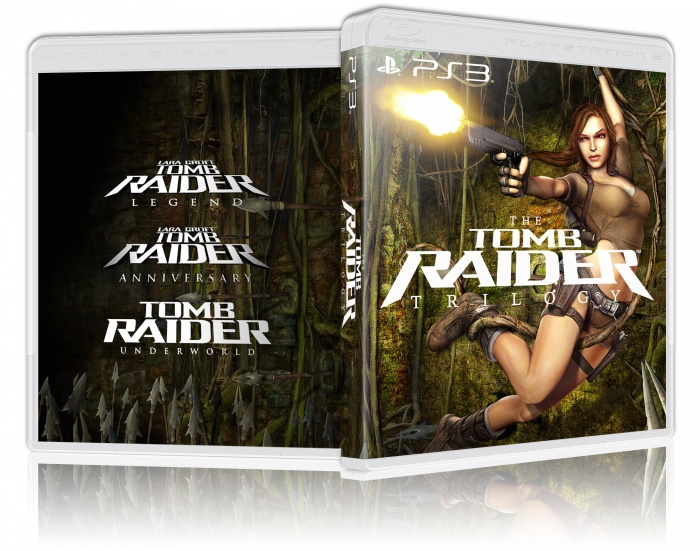 The Tomb Raider Trilogy box art cover