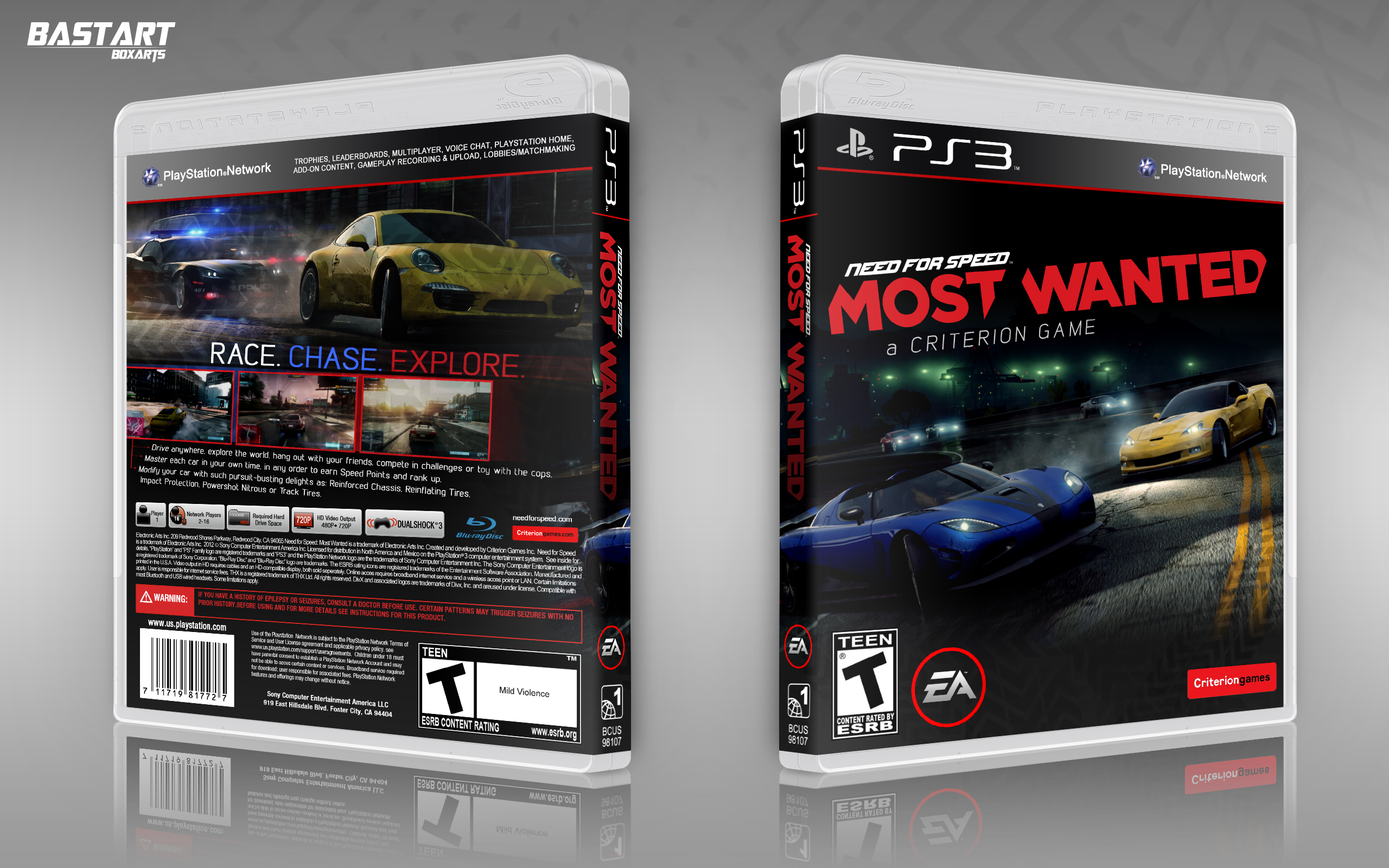 Need For Speed: Most Wanted box cover