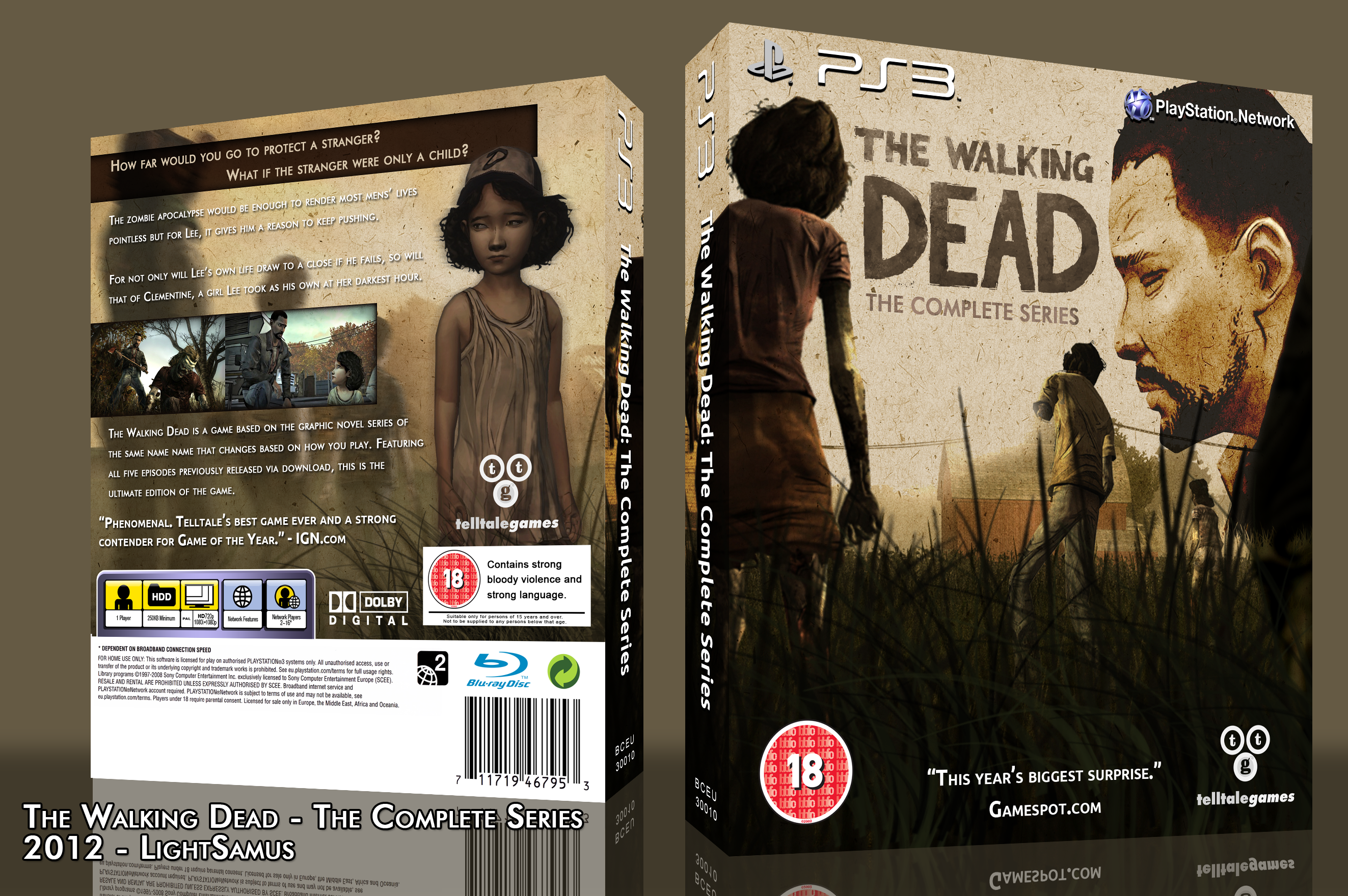 The Walking Dead: The Game box cover
