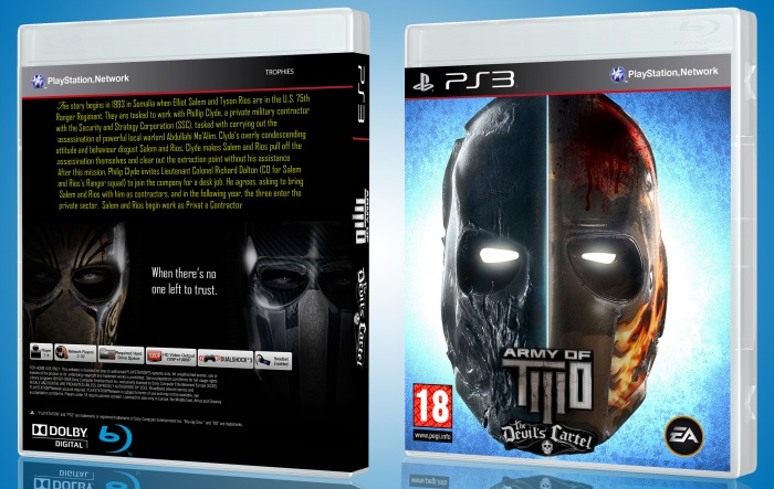 Army of Two: Devil's Cartel box art cover