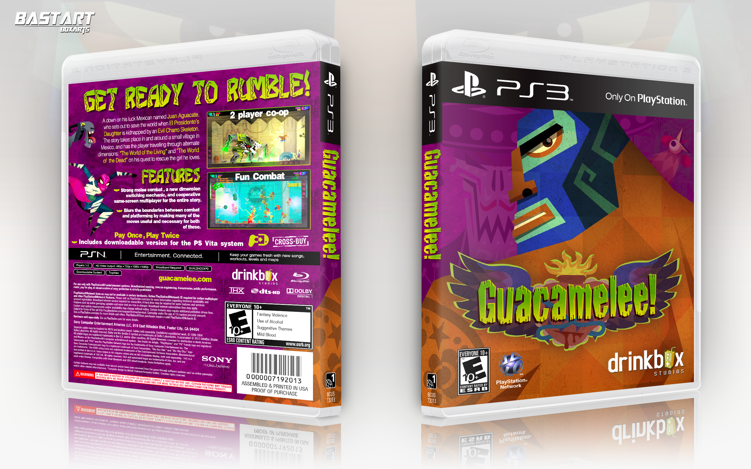 Guacamelee! box cover