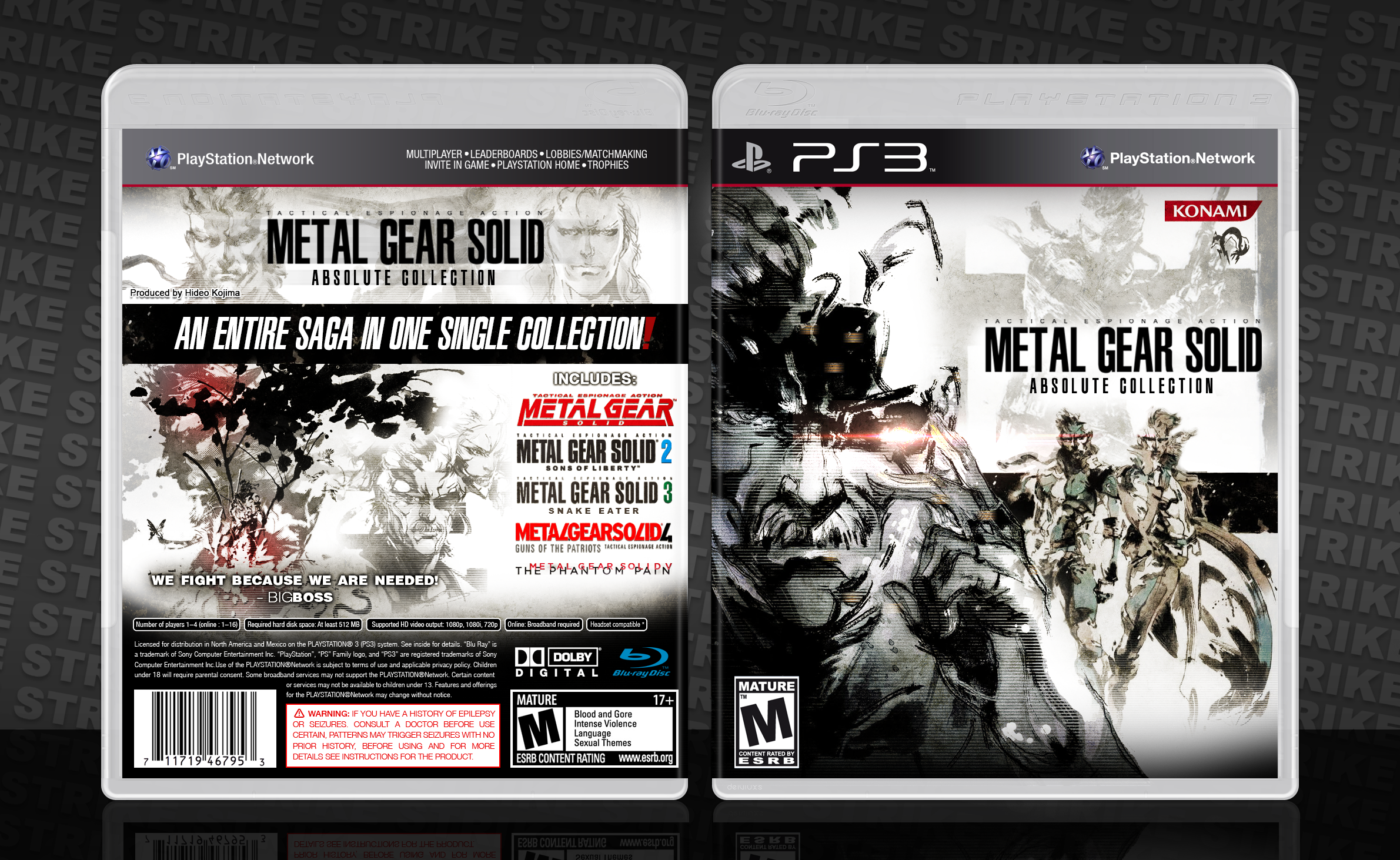 Metal Gear Solid: Absolute Collection box cover