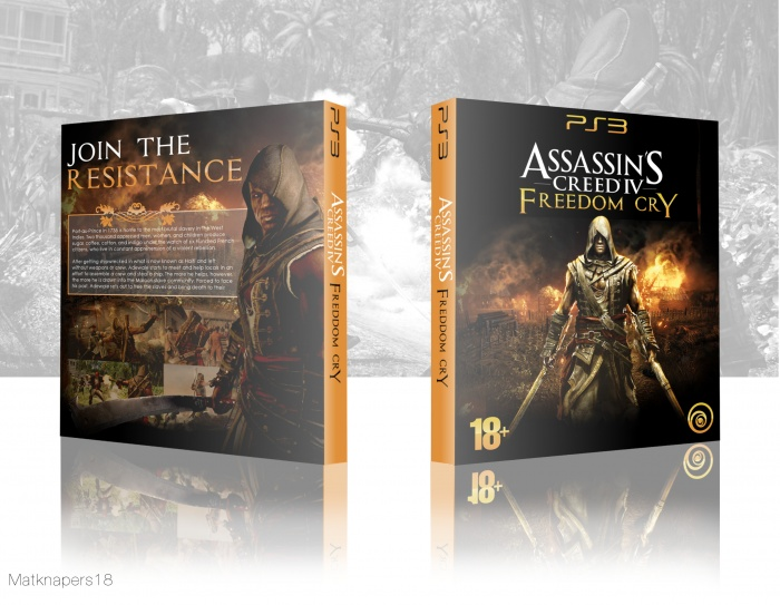 Assassin's Creed IV: Freedom Cry box art cover
