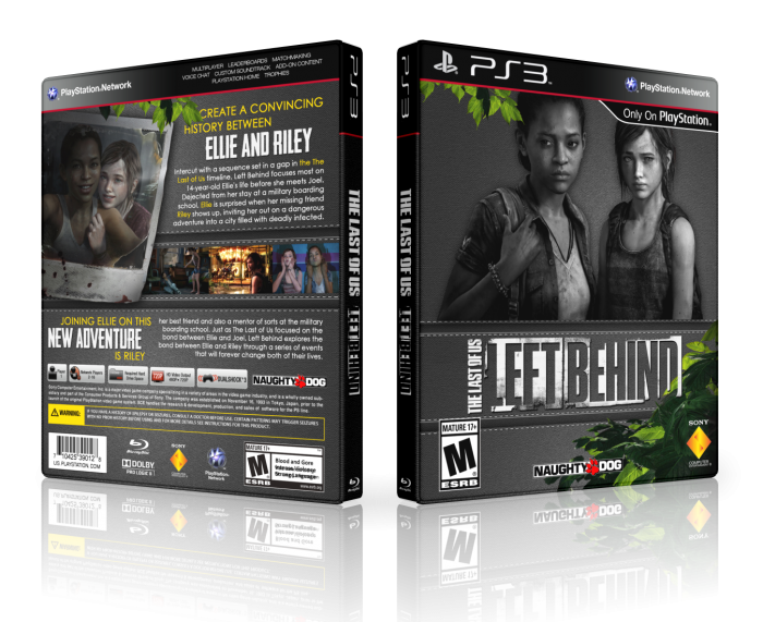 The Last of Us: Left Behind box art cover