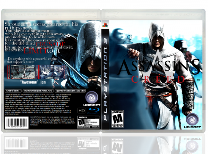 Assassinss Creed box art cover