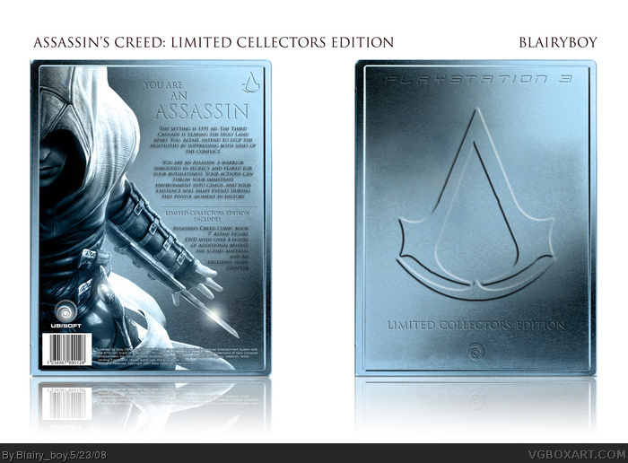 Assassin's Creed Limited Edition box art cover