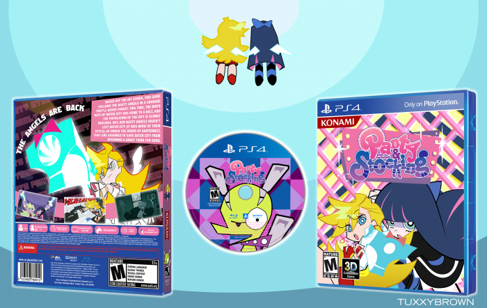 Panty & Stocking with Garterbelt [V2/PS4] box art cover