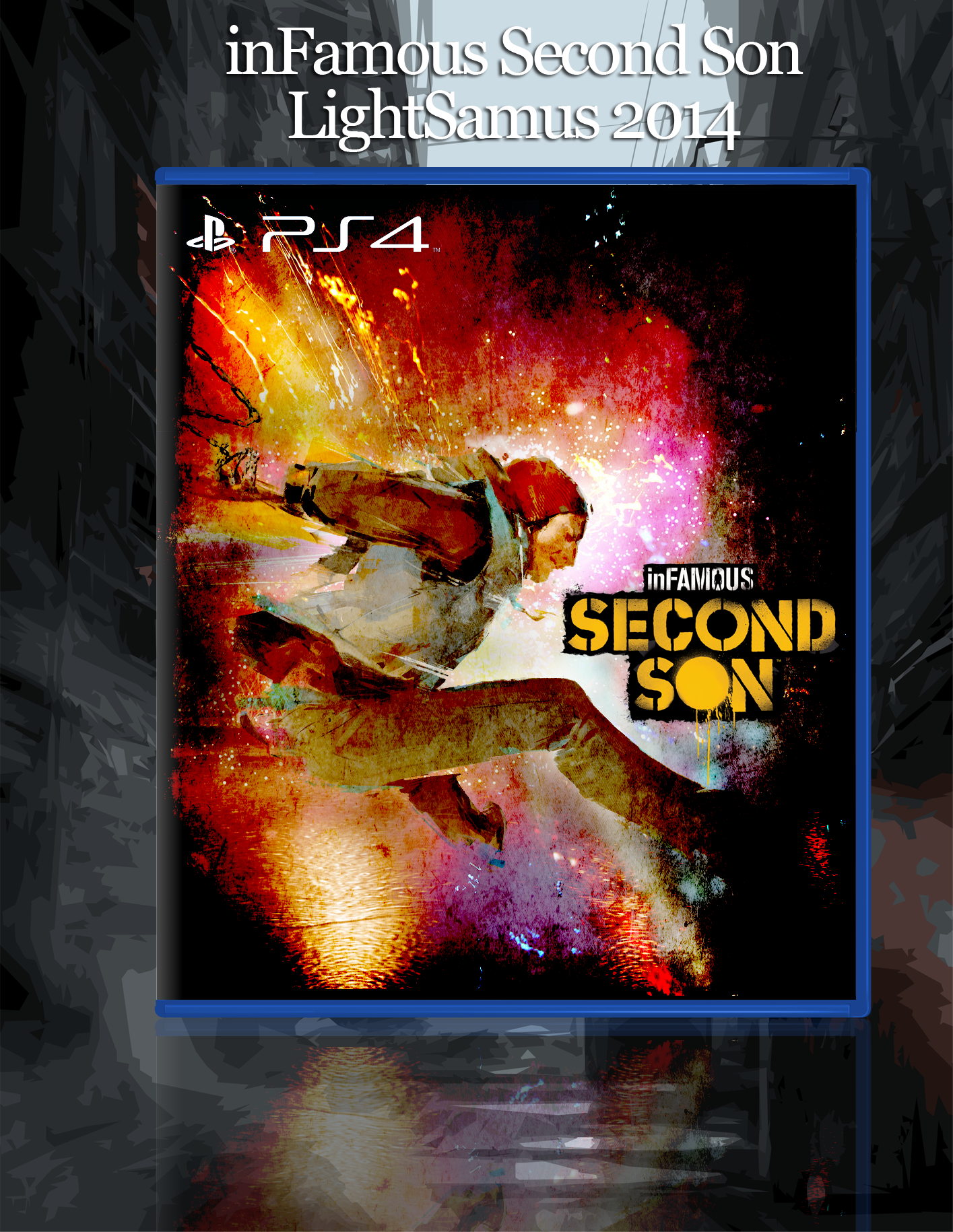 inFAMOUS: Second Son box cover