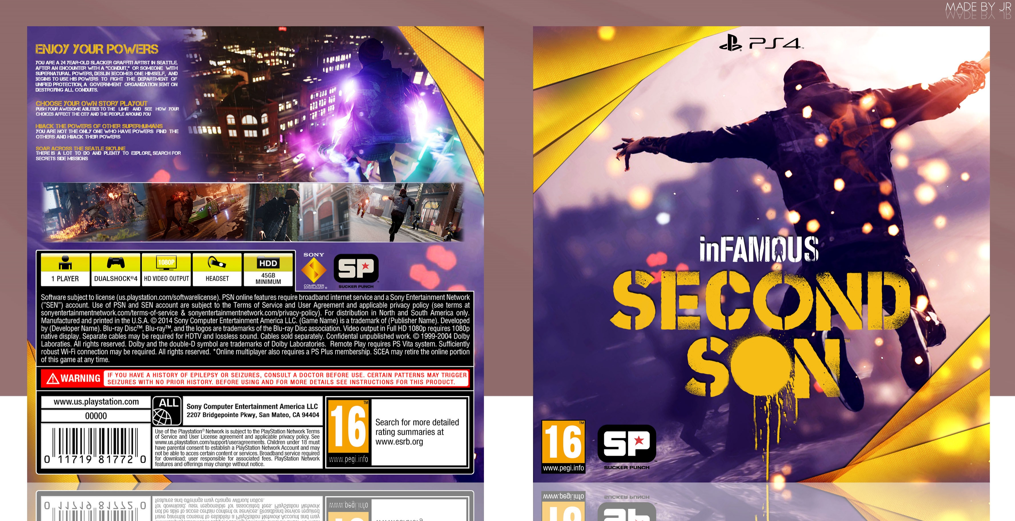 InFamous - Second Son box cover