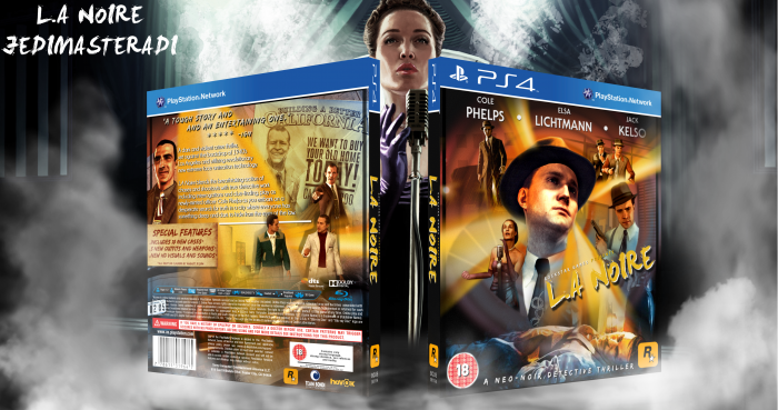 L.A Noire box art cover