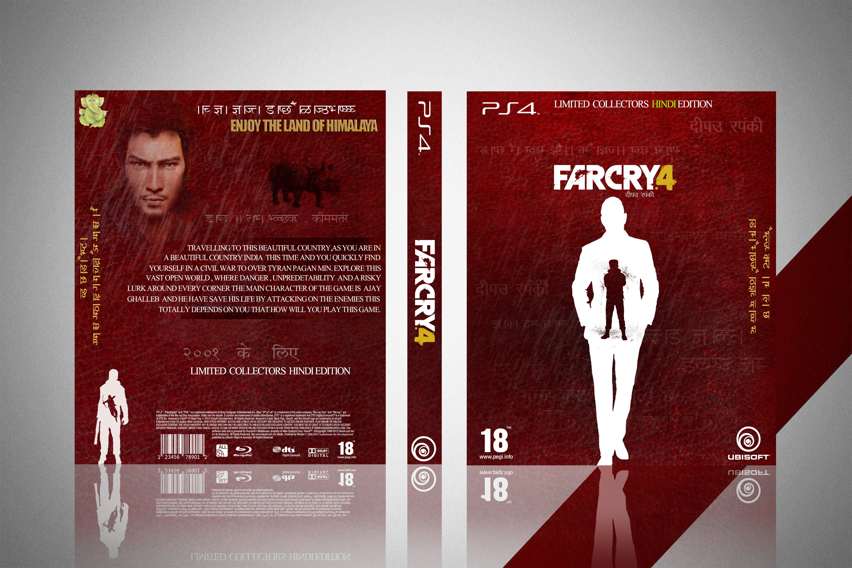 Far Cry 4 : Limited collectors HINDI Edition box cover