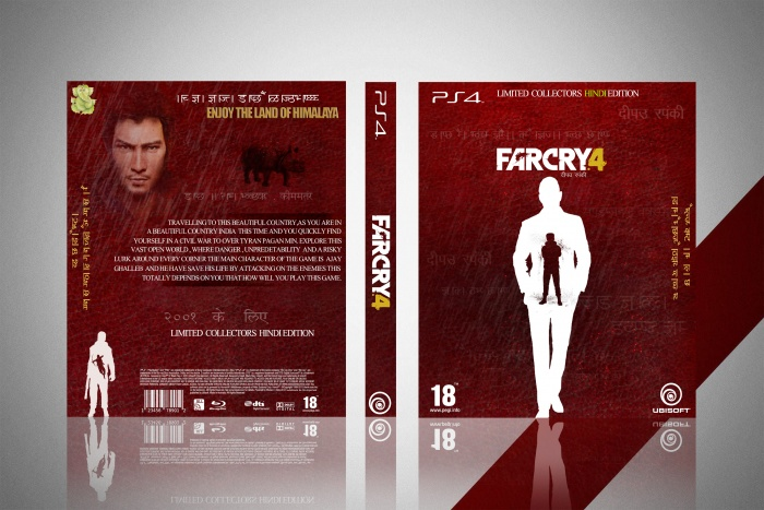Far Cry 4 : Limited collectors HINDI Edition box art cover