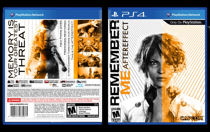 Remember Me: Aftereffect box art cover
