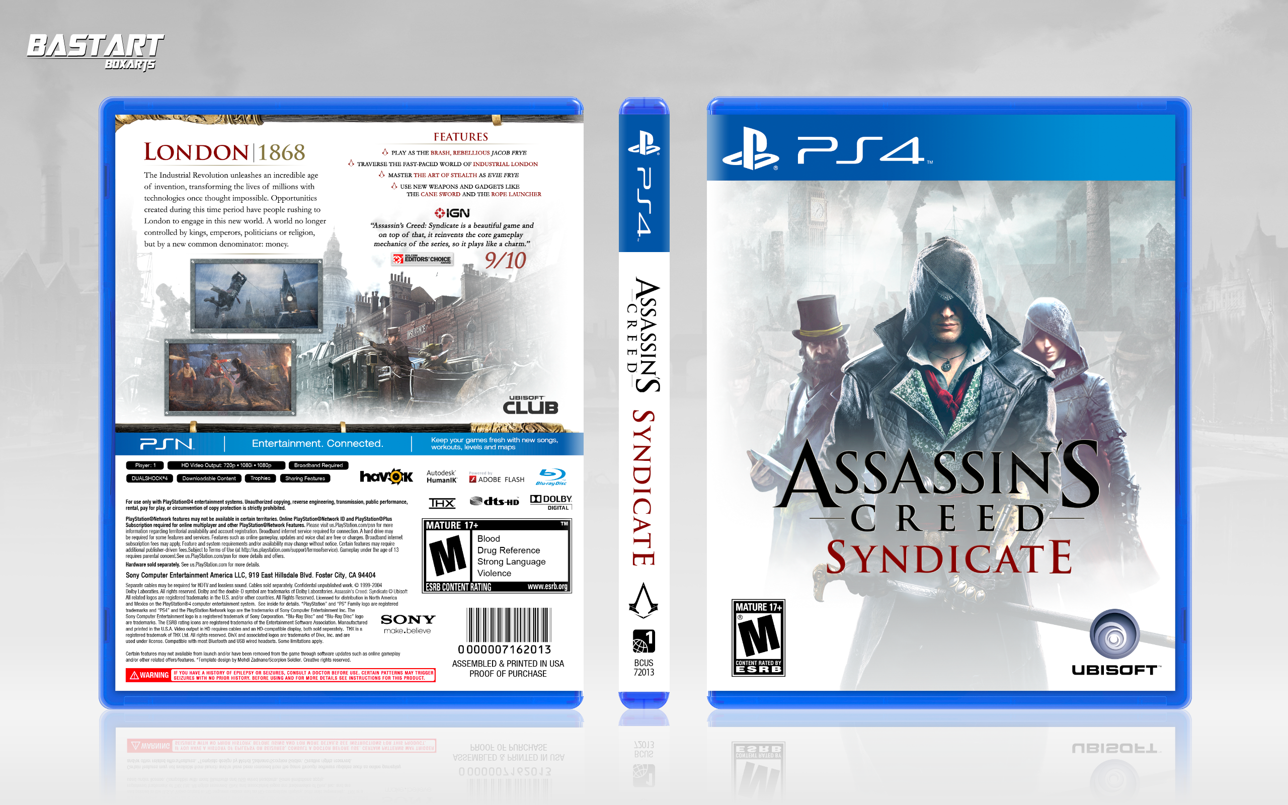 Assassin's Creed: Syndicate box cover